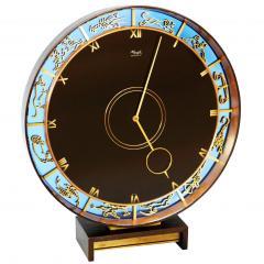 Zodiac Clock by Kienzle in Bronze - 1072076
