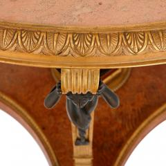 Zwiener Jansen Successeur Antique ormolu mounted centre table by Zwiener Jansen Successeur - 1287239