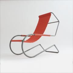 battista giudici Pair of Lido Lounge Chairs by Battista Giudici Locarno Switzerland 1936 - 1163760