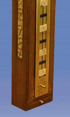 c 1850 Massive Japanese Striking Stick Clock - 1276593