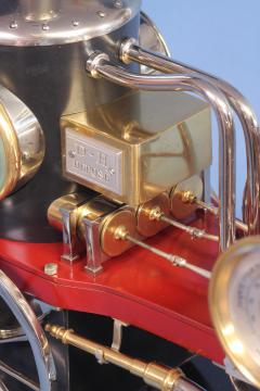 c 1900 French Industrial Fire Engine Clock - 1184034