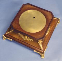 c 1925 French Mahogany Mystery Turtle Clock - 509954