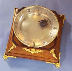 c 1925 French Mahogany Mystery Turtle Clock - 509955