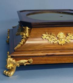 c 1925 French Mahogany Mystery Turtle Clock - 509956