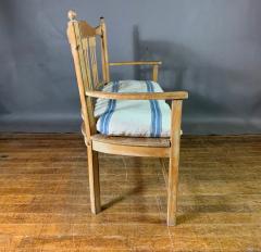 c1900 Swedish Art Nouveau Rural Pine Bench Vintage Grainsack Seat - 1350995