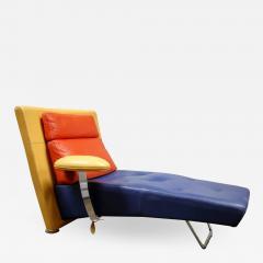 gamma arredamenti Leather Chaise by Gamma Arredamenti - 1106951