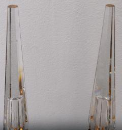 pair of obelisk lamps in the style of Serge Roche - 1325410