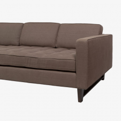 reGeneration Furniture Sofa 3 with button tufted seat and down and feather back cushions - 759432