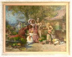 the market day by Imre GERGELY 1868 1914  - 1047420