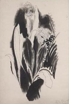 Yasuo Kuniyoshi Two Flowers c 1922 - 9623