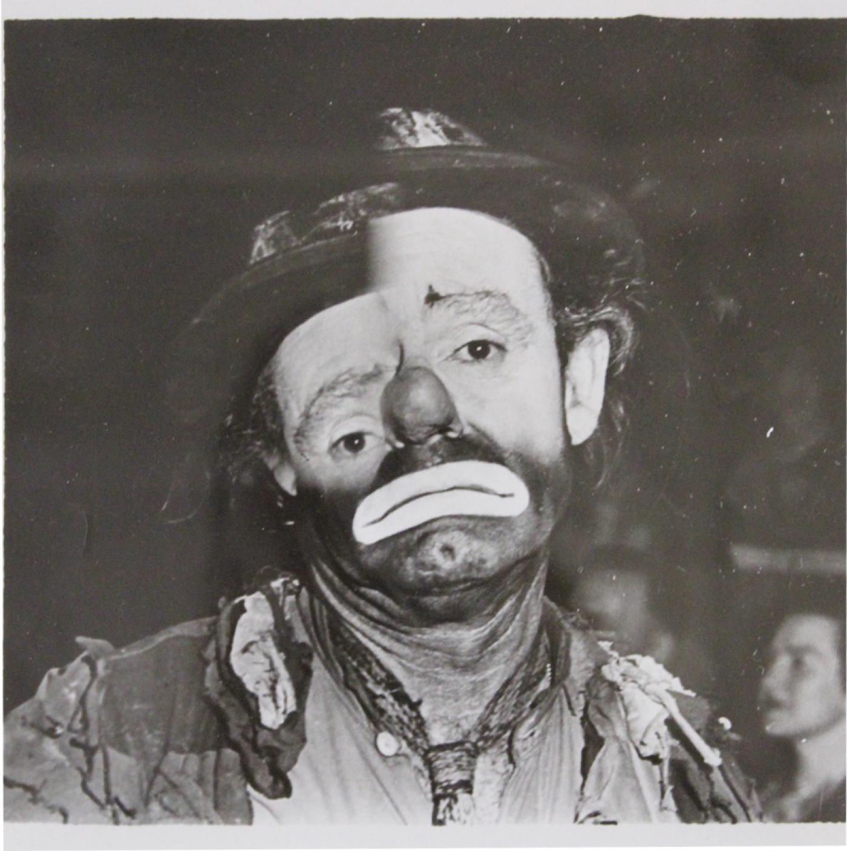 Weegee Arthur Fellig Weegee Distortion Photograph Of Emmett Kelly