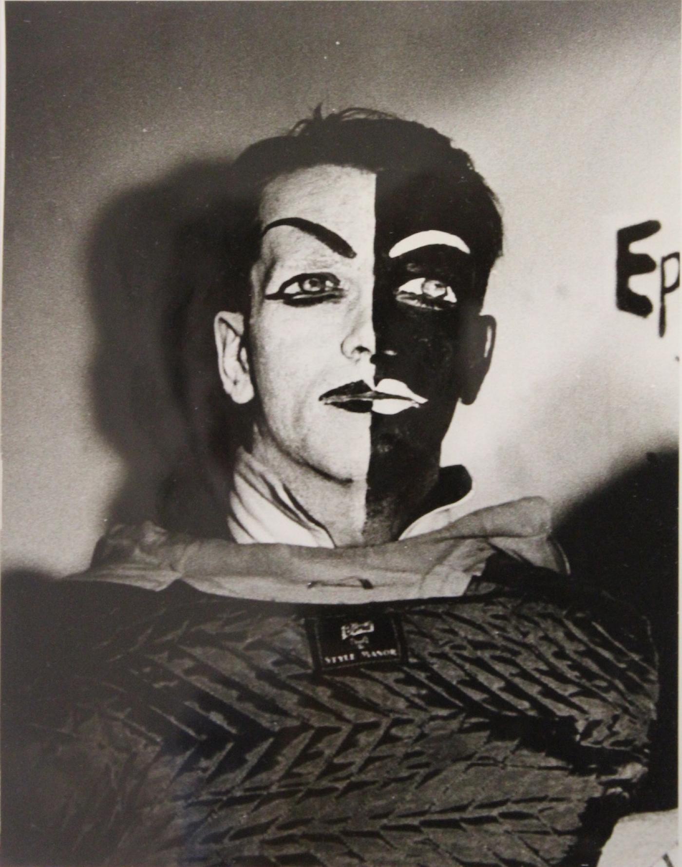 Weegee Arthur Fellig Weegee Harliquin Portrait Photograph