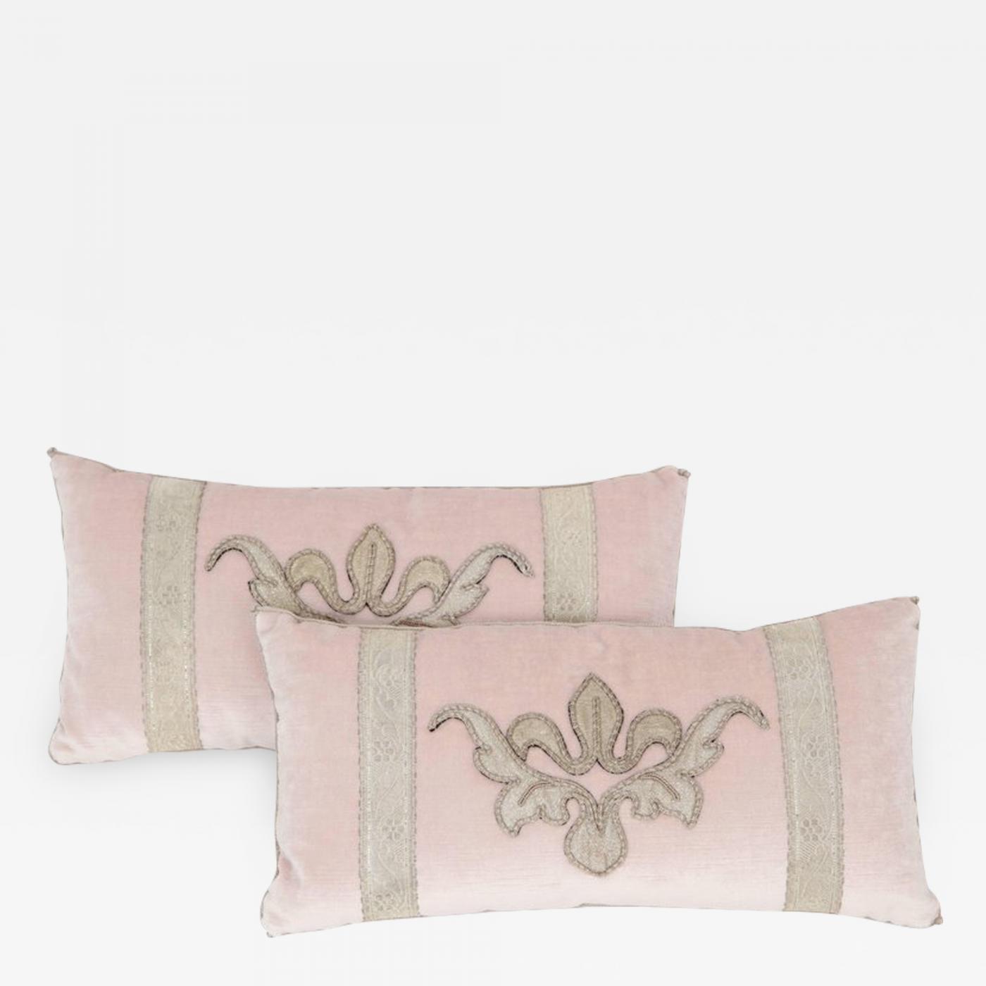 Bviz Designs Blush Pink Velvet Pillow
