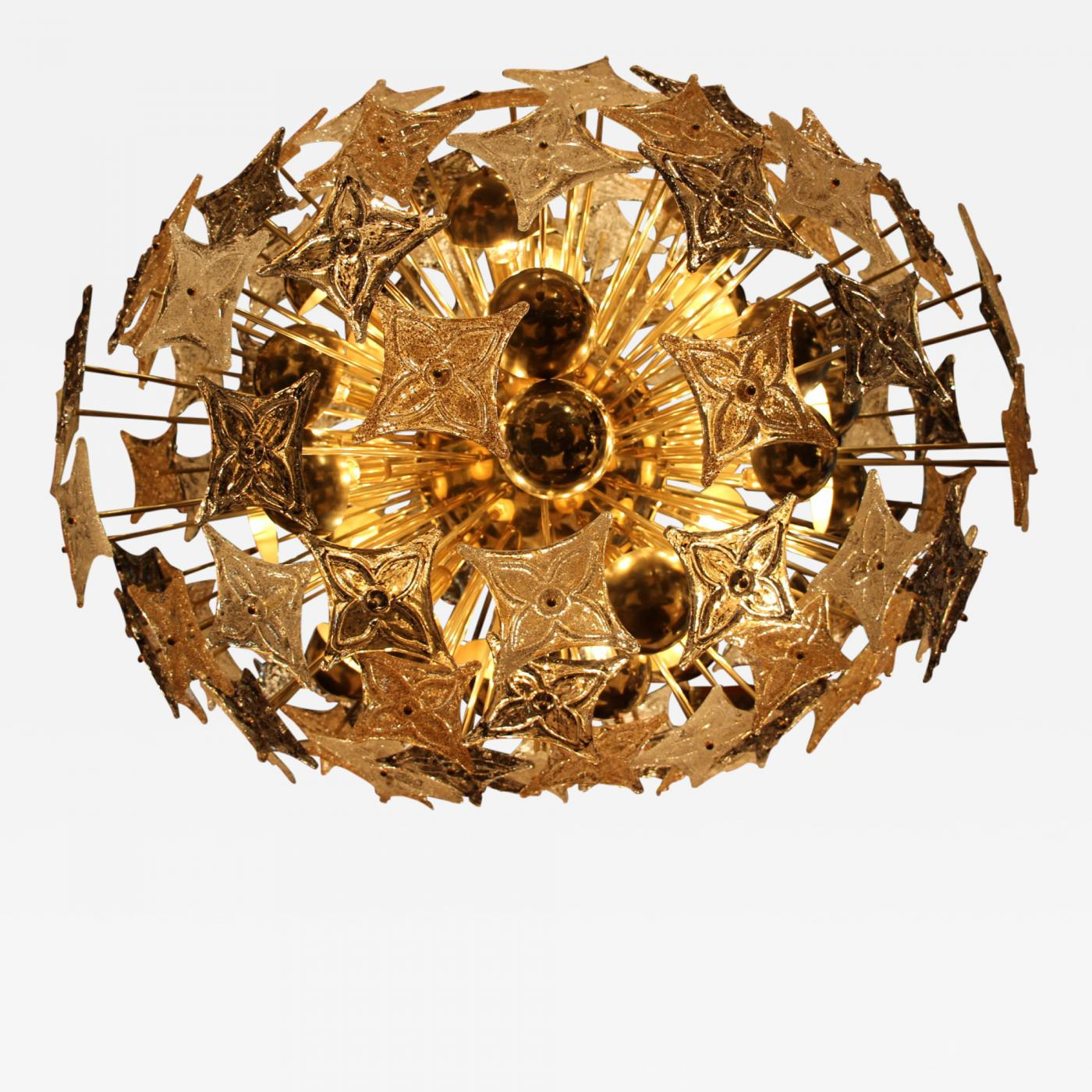 Barovier & Toso Extra Sputnik Chandelier Glass by