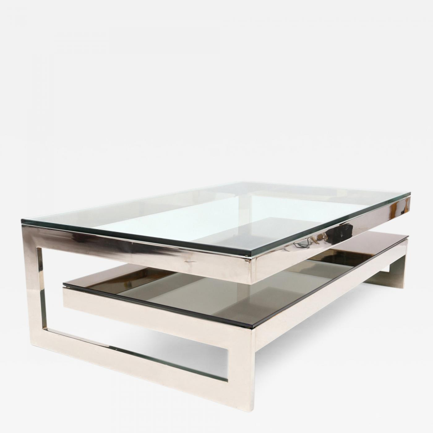 Belgo Chrome Chrome G Coffee Table
