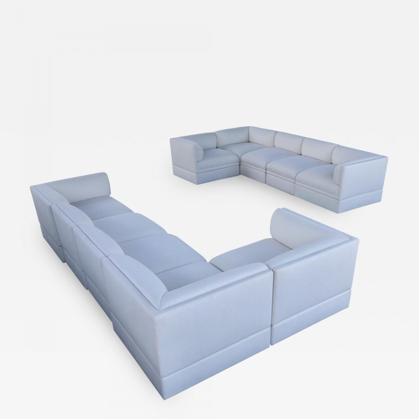 Brueton - 10 Pieces Brueton Sectional Sofa