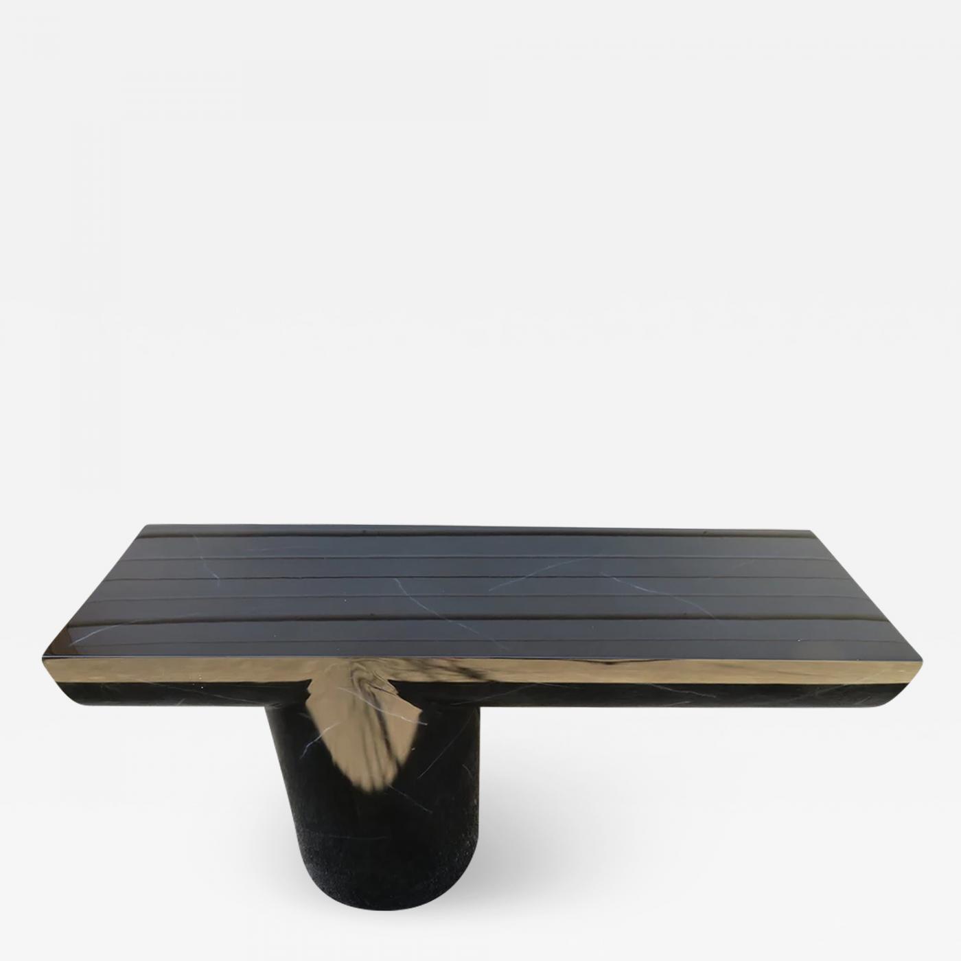 Terrific Brueton Brueton Mid Century Modern Cantilevered Lacquer Console Sofa Table Creativecarmelina Interior Chair Design Creativecarmelinacom