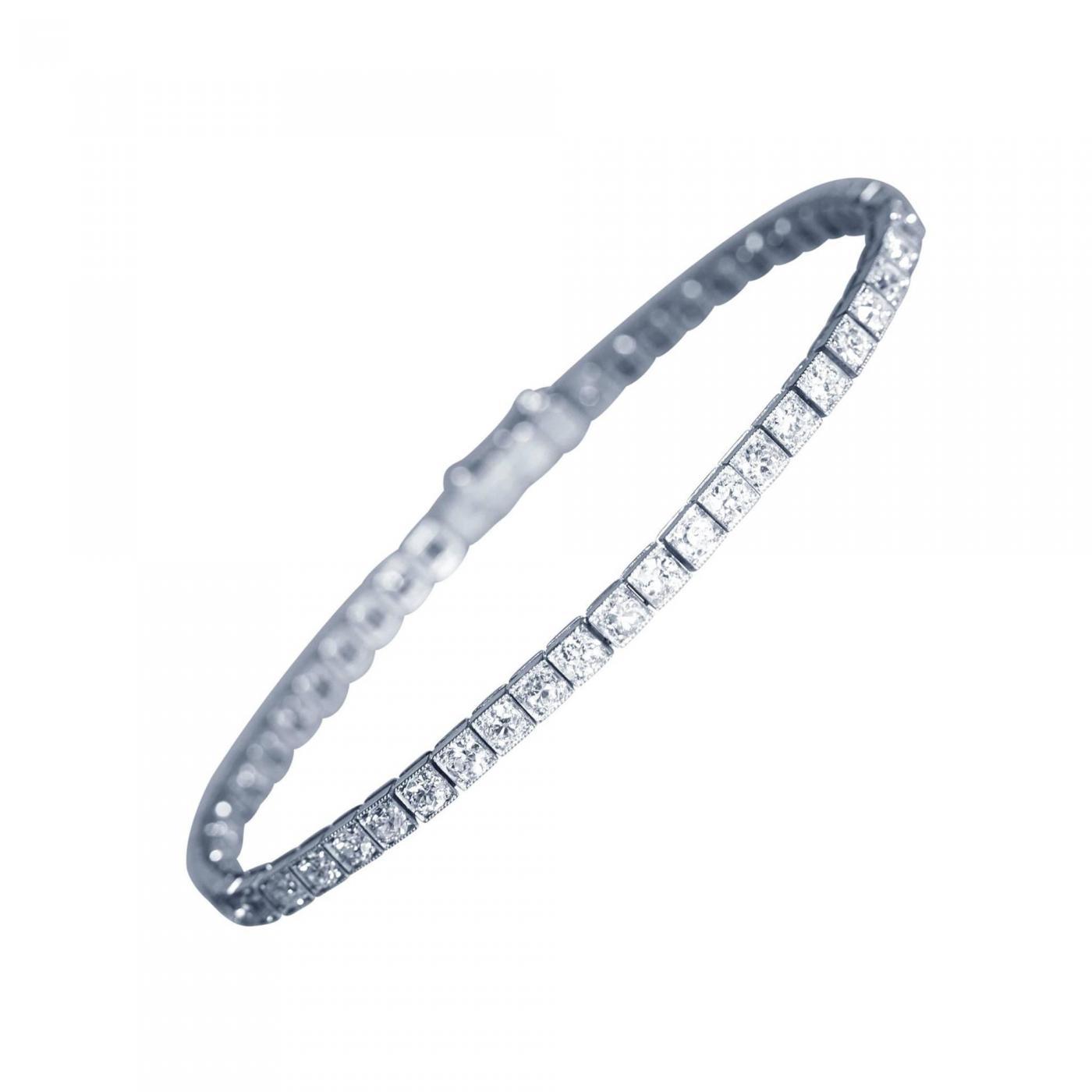 cartier cartier art deco diamond platinum straight line bracelet click on image to enlarge art deco furniture lines