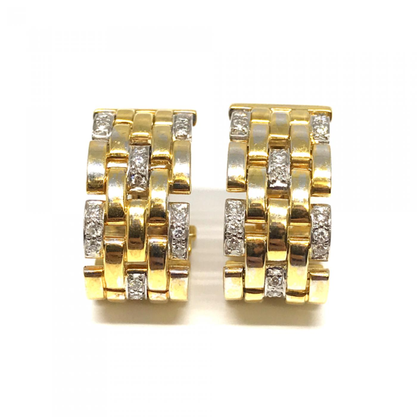 2c24f9be688a7 Cartier - Cartier Maillon Panthere Clip On Earrings