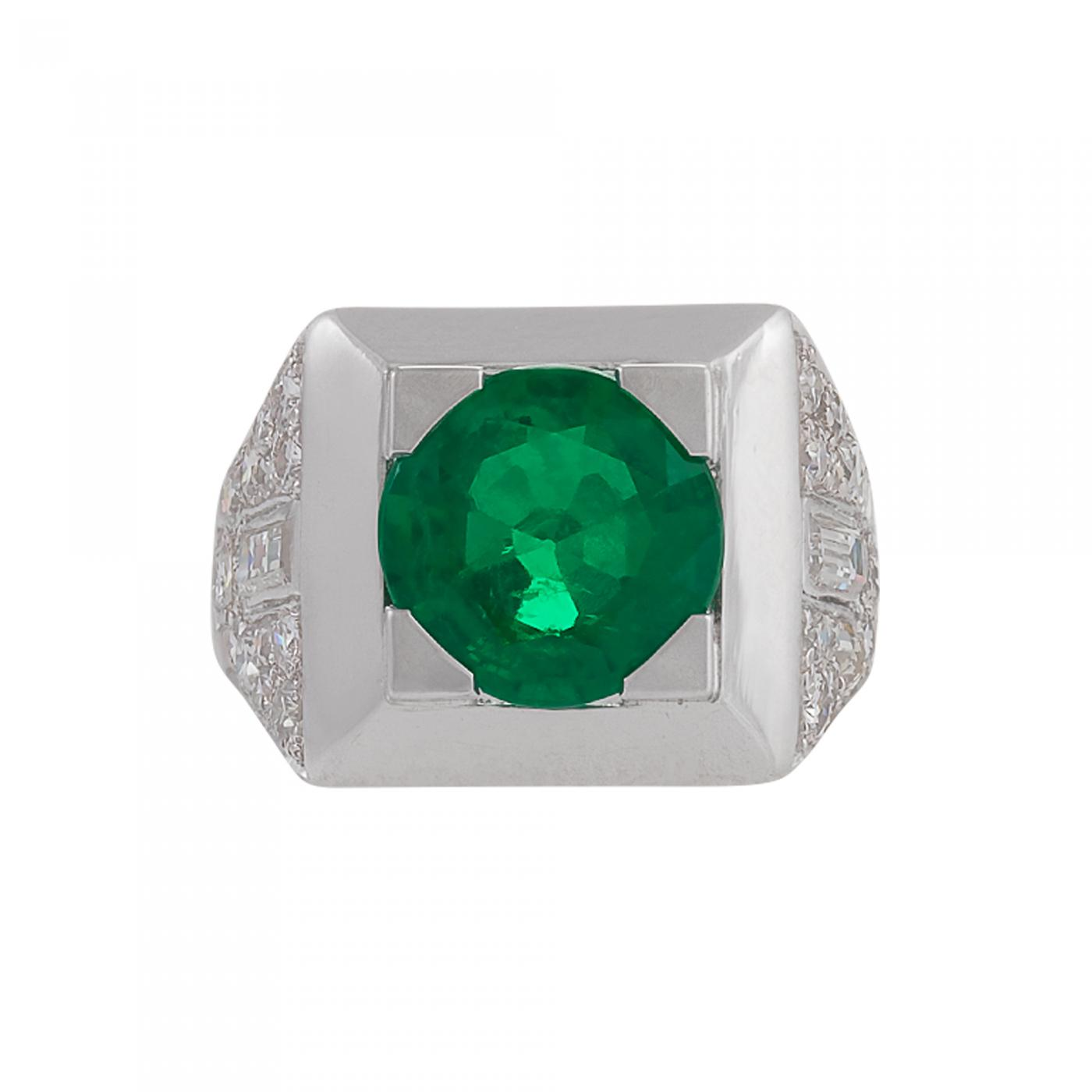 emerald products band deco envy size cartier art eternity chrono platinum antique