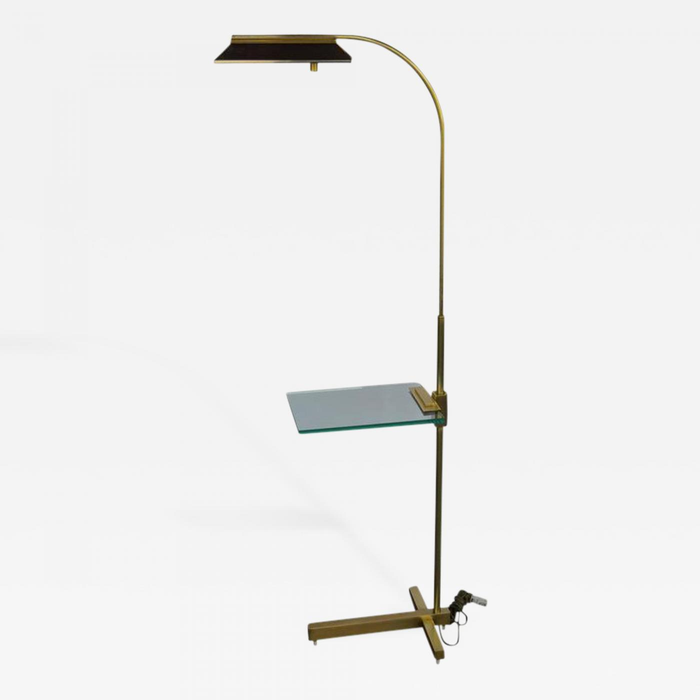 Superbe Listings / Furniture / Lighting / Floor Lamps · Casella Lighting Brass  Pharmacy ...