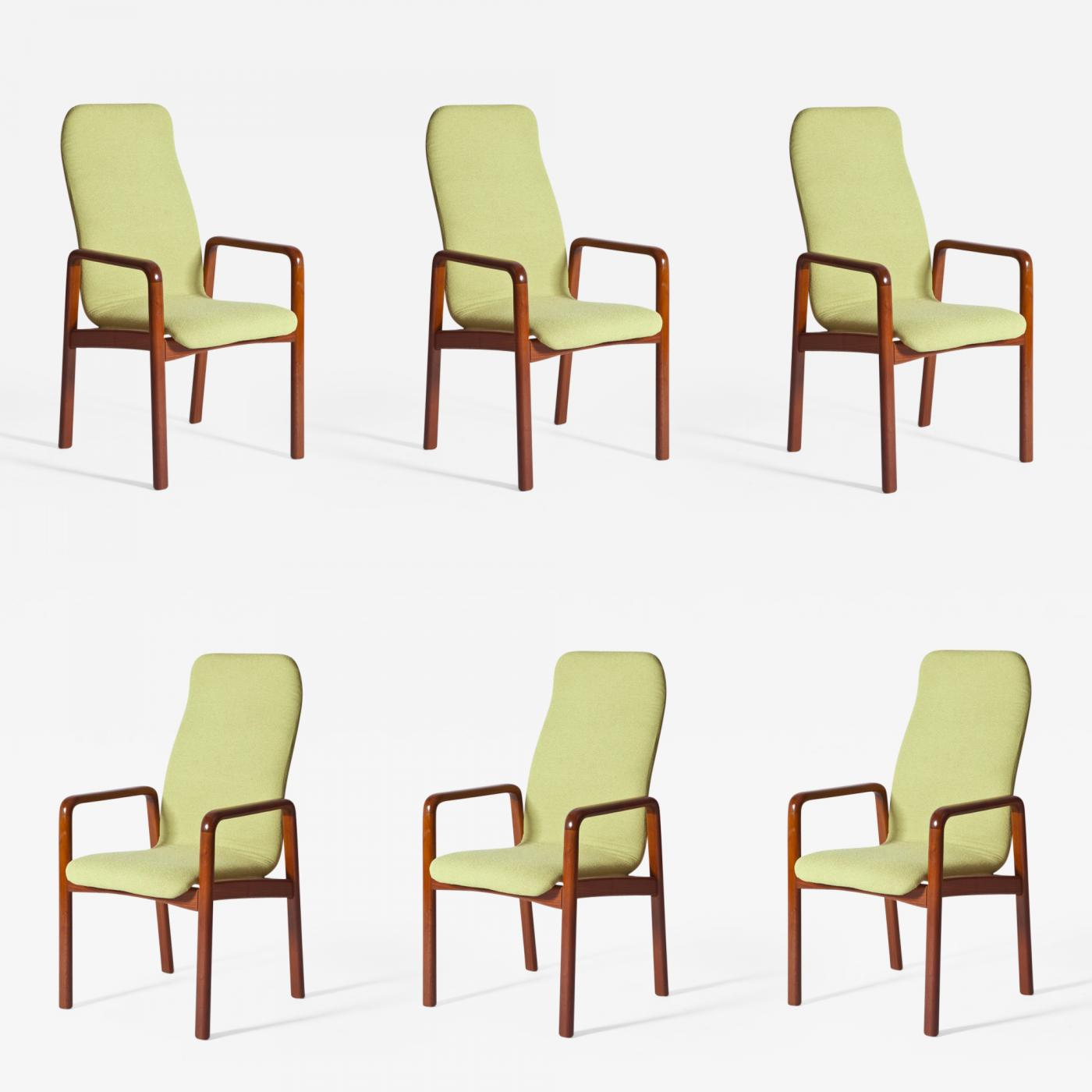 Set Of 6 Dining Chairs: Set Of Six Dining Chairs By Dyrlund