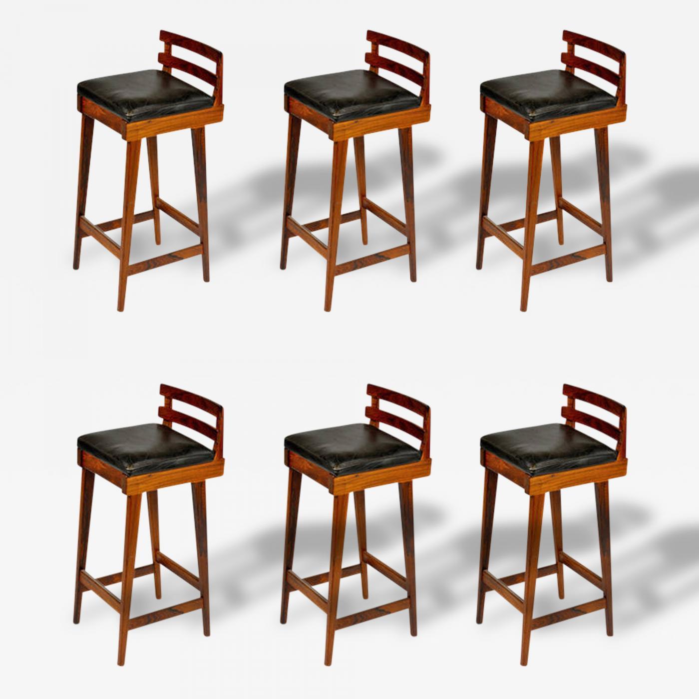 Milo Baughman Bar Stool Set Stool Images Milo Baughman
