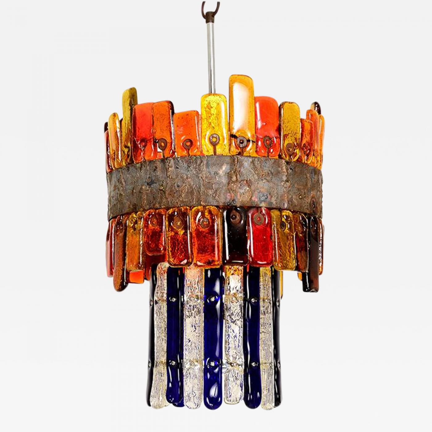 Feders feders handblown chandelier listings furniture lighting chandeliers and pendants feders feders handblown chandelier mozeypictures Images