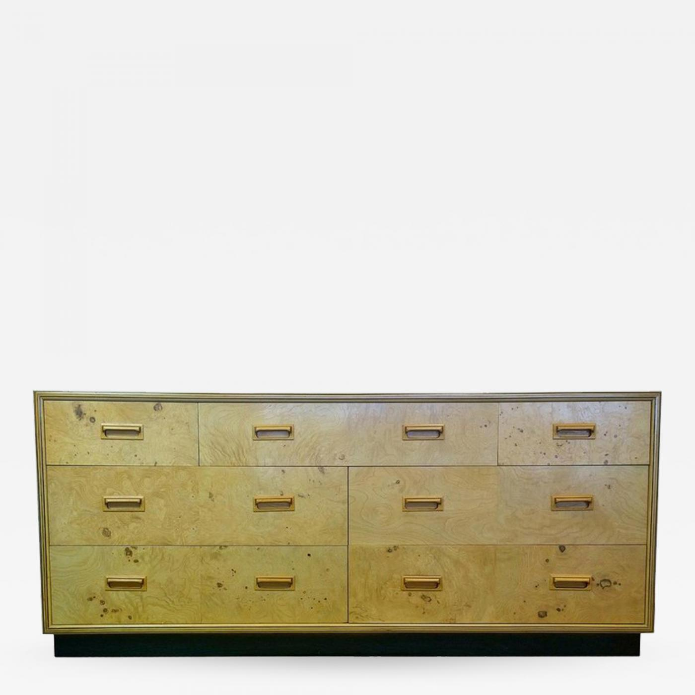 Henredon Furniture Signed Mid Century Modern Henredon Scene