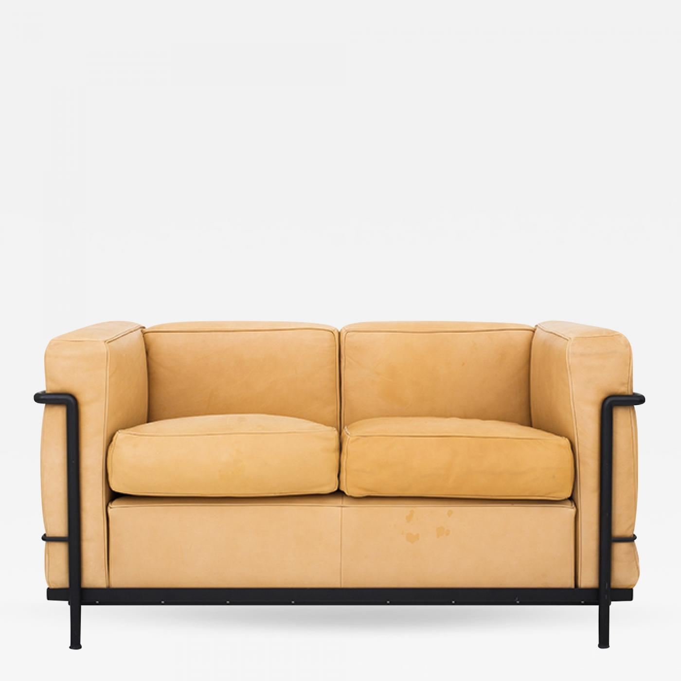 Le Corbusier - LC 2 - 2 Seater Sofa