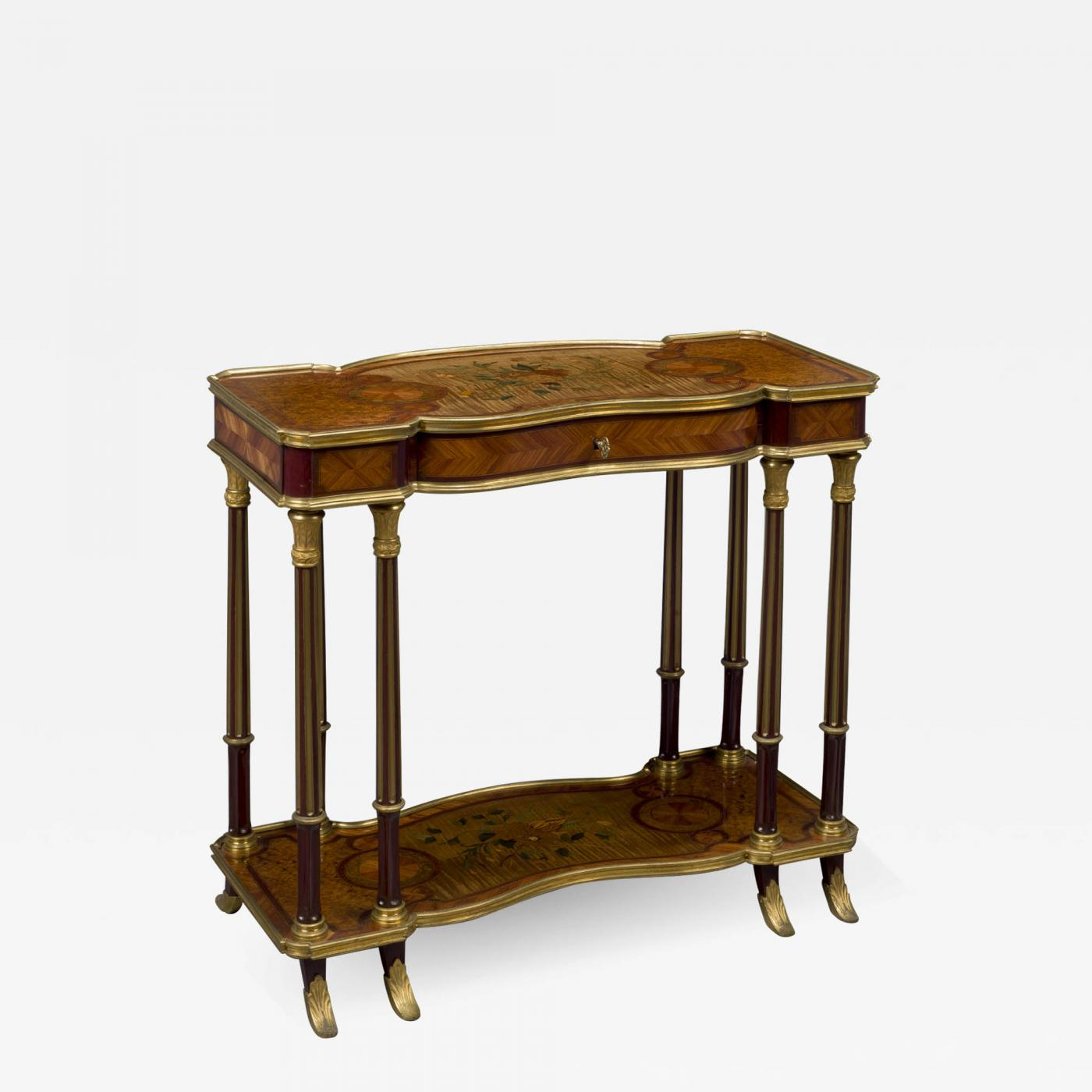 A Transitional Style Low Side Table