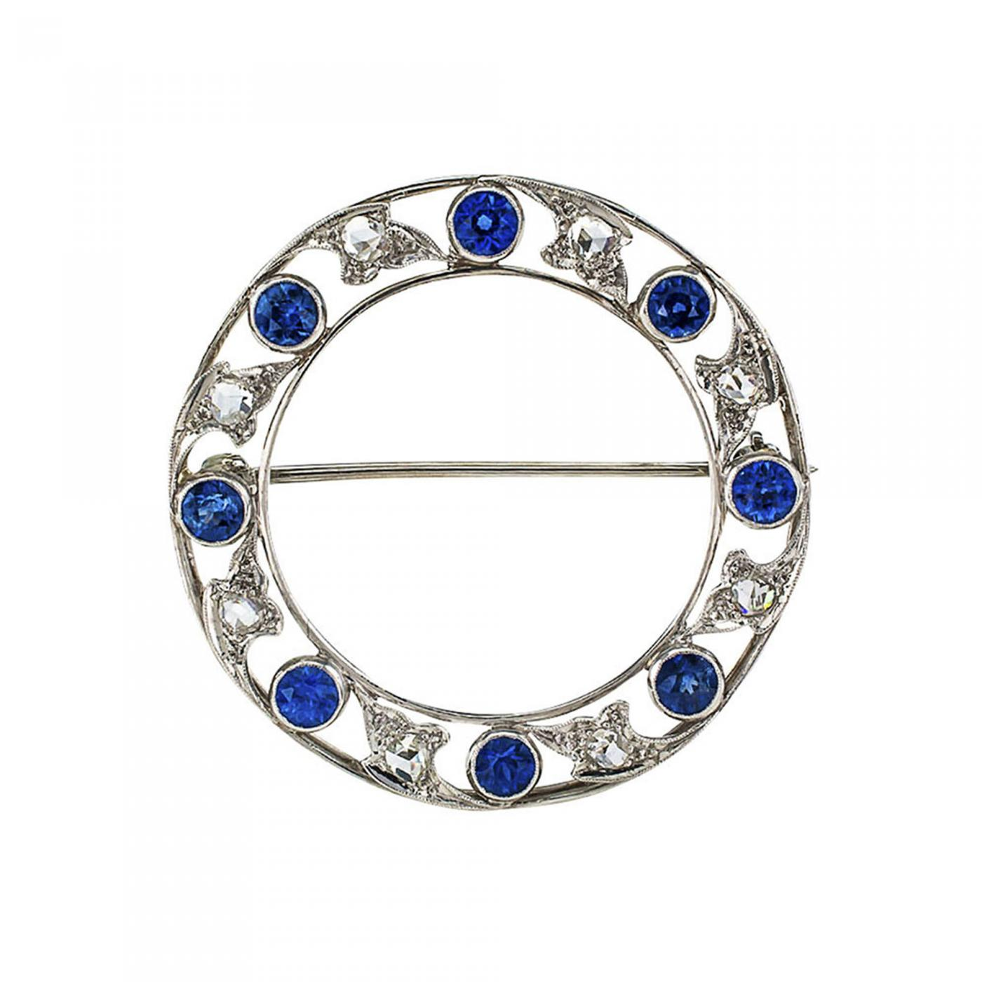 sapphire michael white ring designs gold and diamond mark rose cut rings