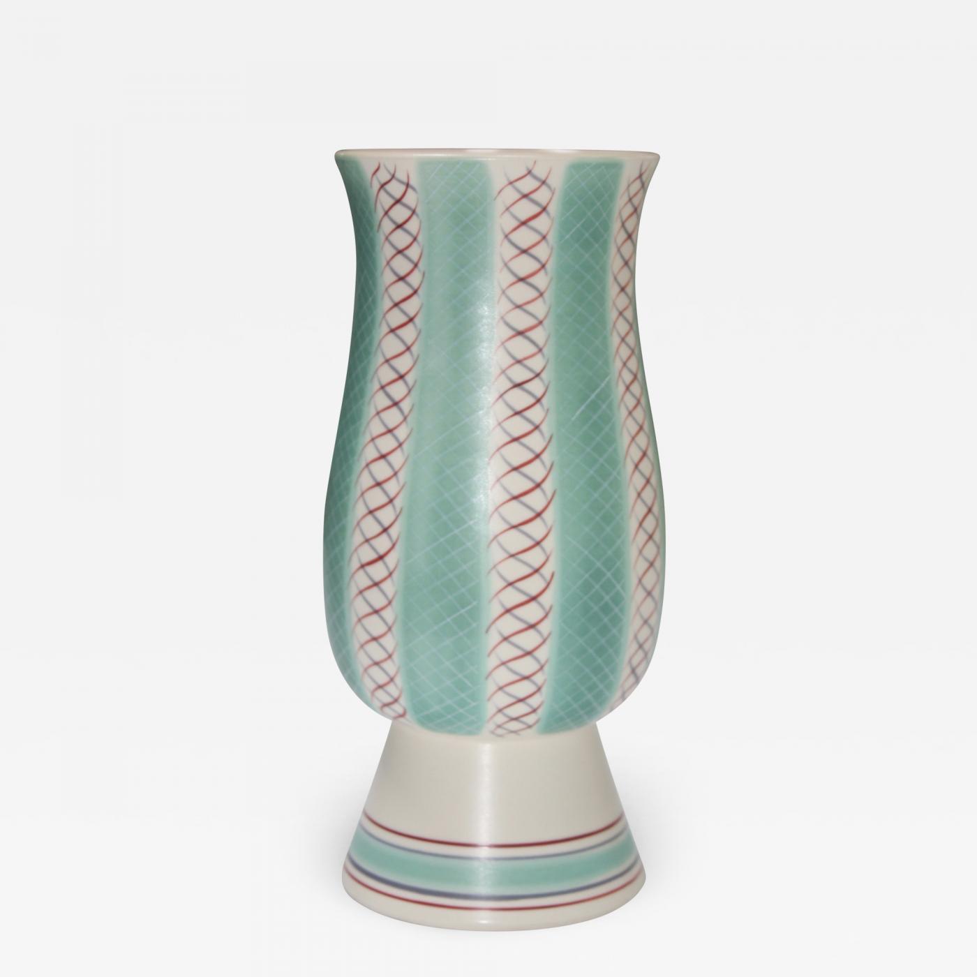 Poole Pottery Mid Century Modern Poole Pottery Vase