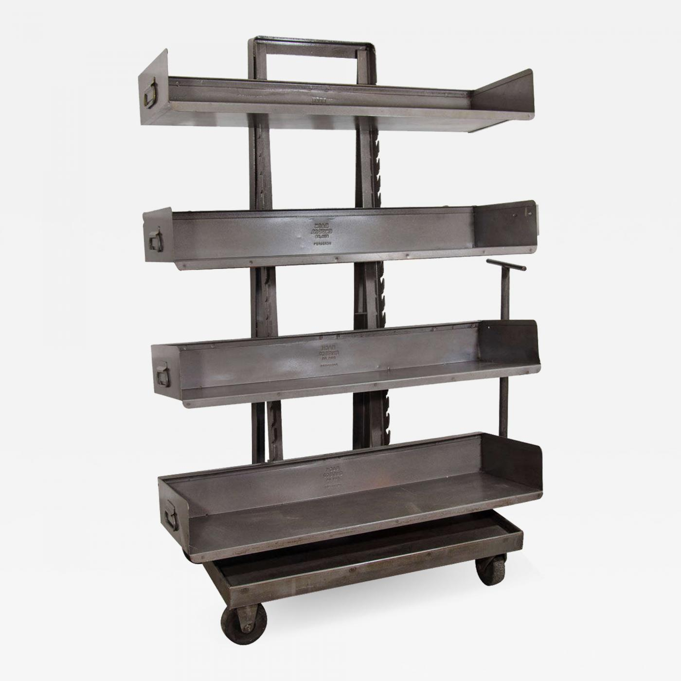 Bookcase On Wheels
