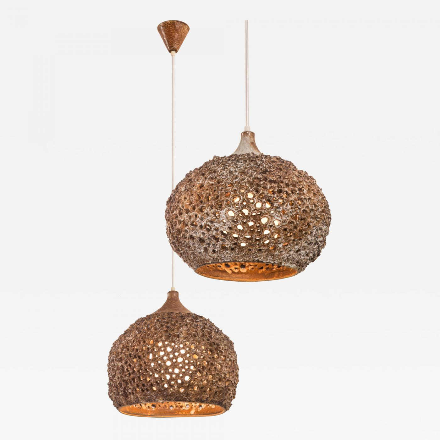 Sejer keramikfabrik sejer keramikfabrik matched pair of danish listings furniture lighting chandeliers and pendants arubaitofo Choice Image