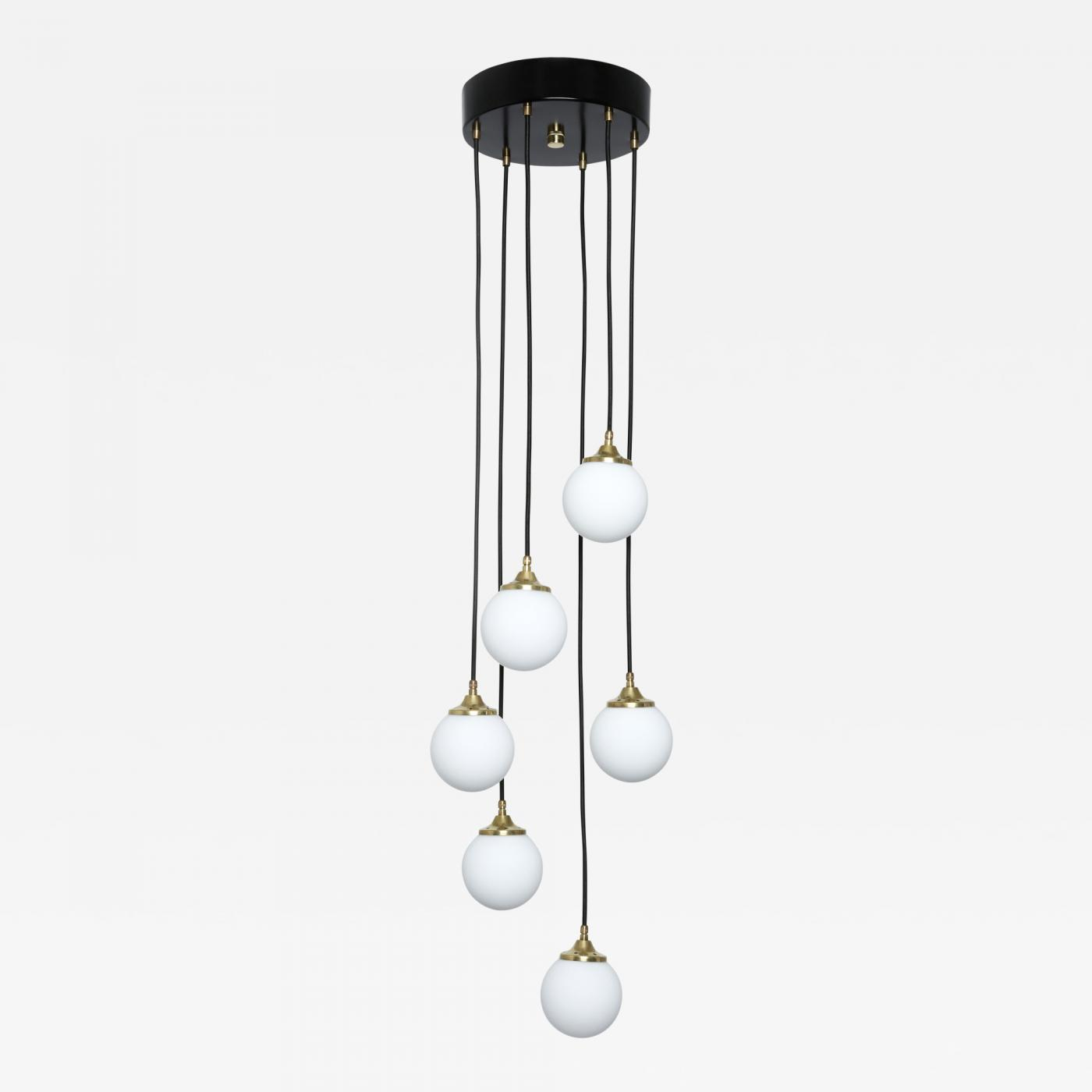 Stilnovo stilnovo attributed cascading chandelier listings furniture lighting chandeliers and pendants arubaitofo Gallery