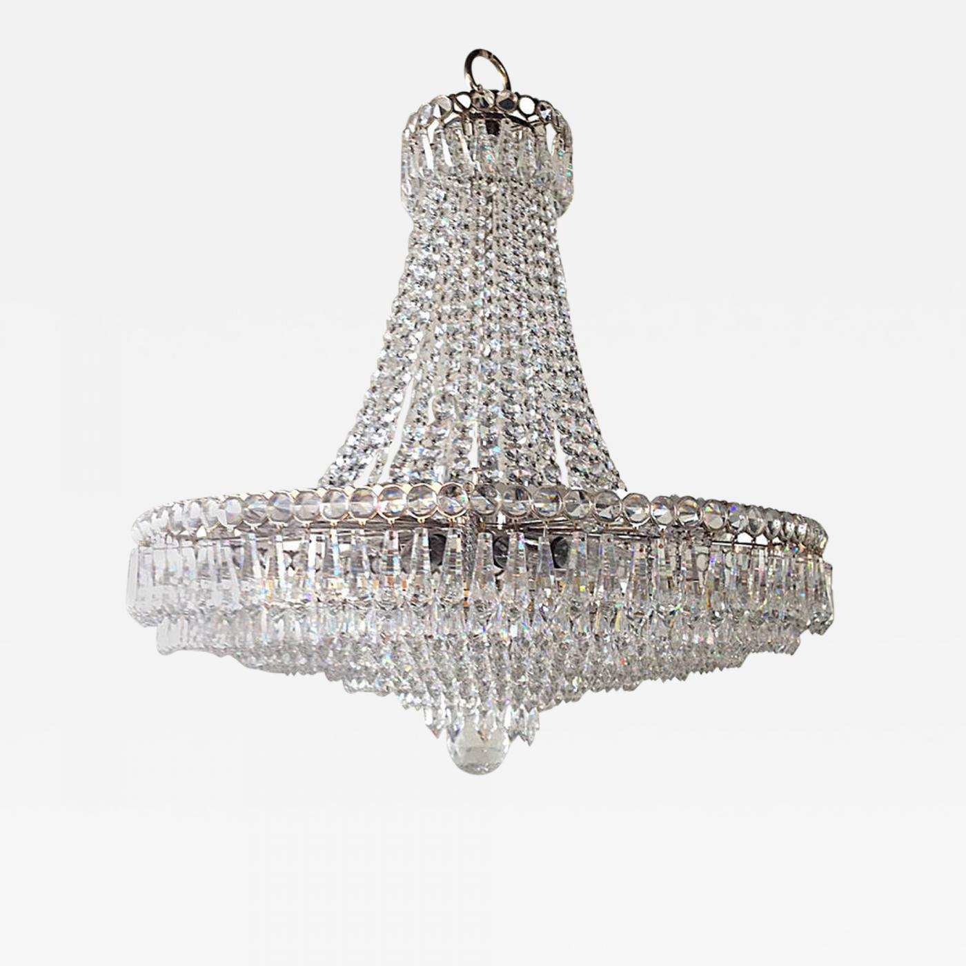 Strauss lighting strauss waterfall crystal hollywood regency listings furniture lighting chandeliers and pendants mozeypictures Choice Image