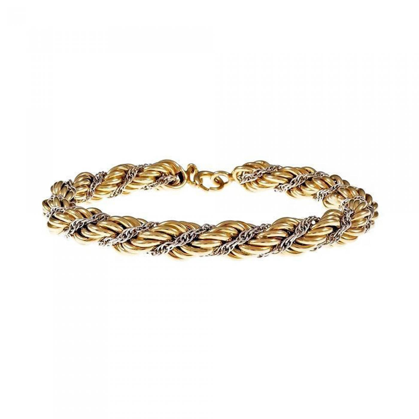 0f828bd1b Tiffany and Co. - Tiffany & Co. Braided Rope Chain Gold Bracelet