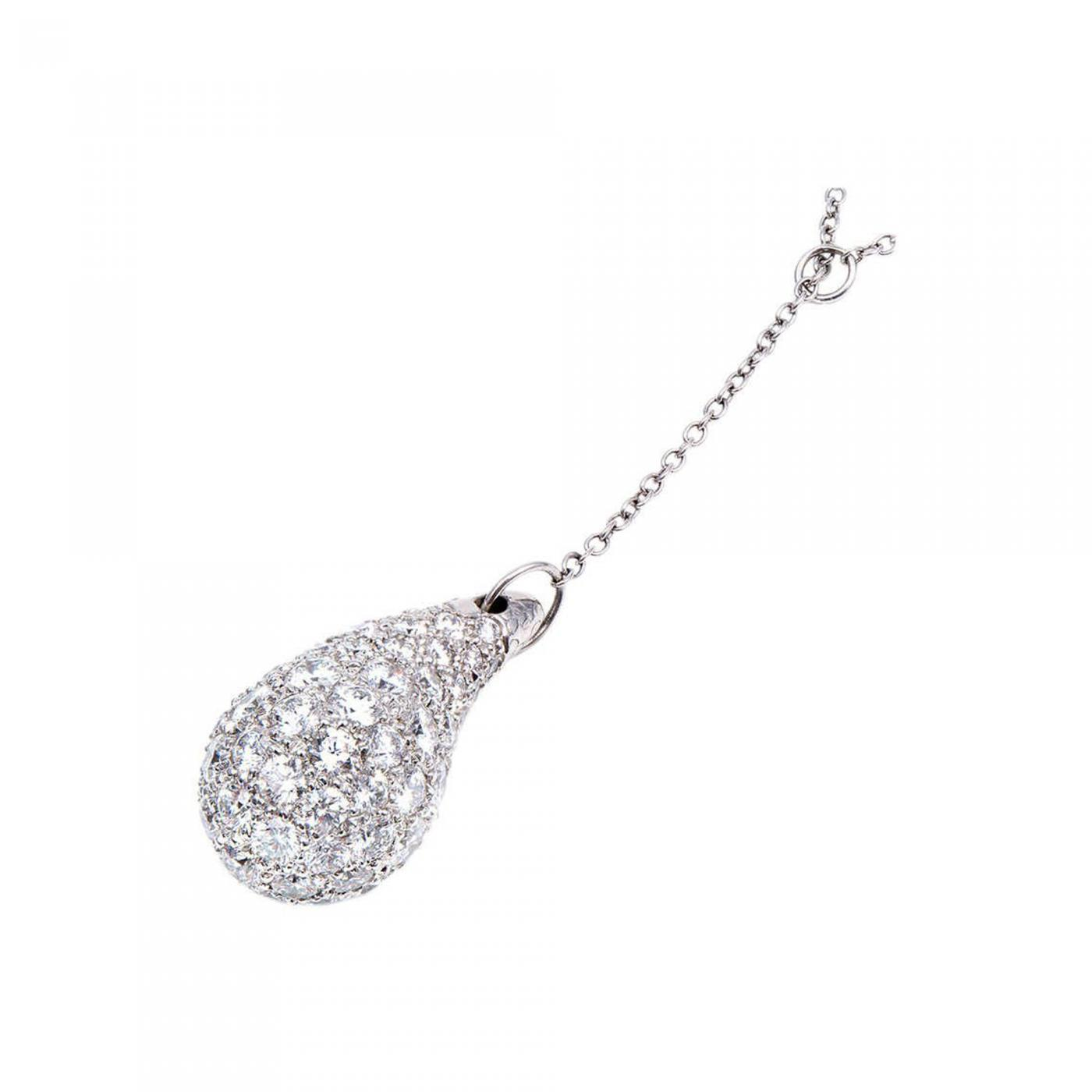 b646d07a5 Tiffany and Co. - Tiffany & Co. Elsa Peretti Teardrop Diamond Pendant ...