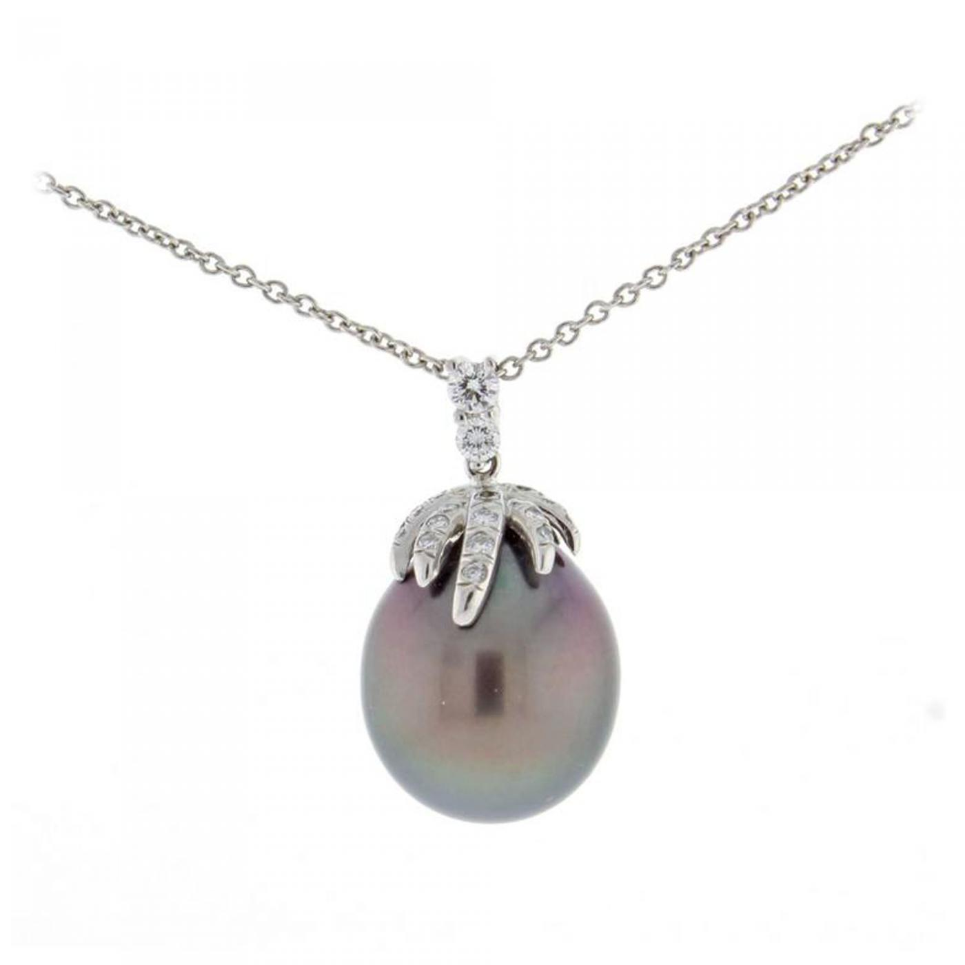 pearl gold co necklace akoya diamond tiffany pendant ayoka