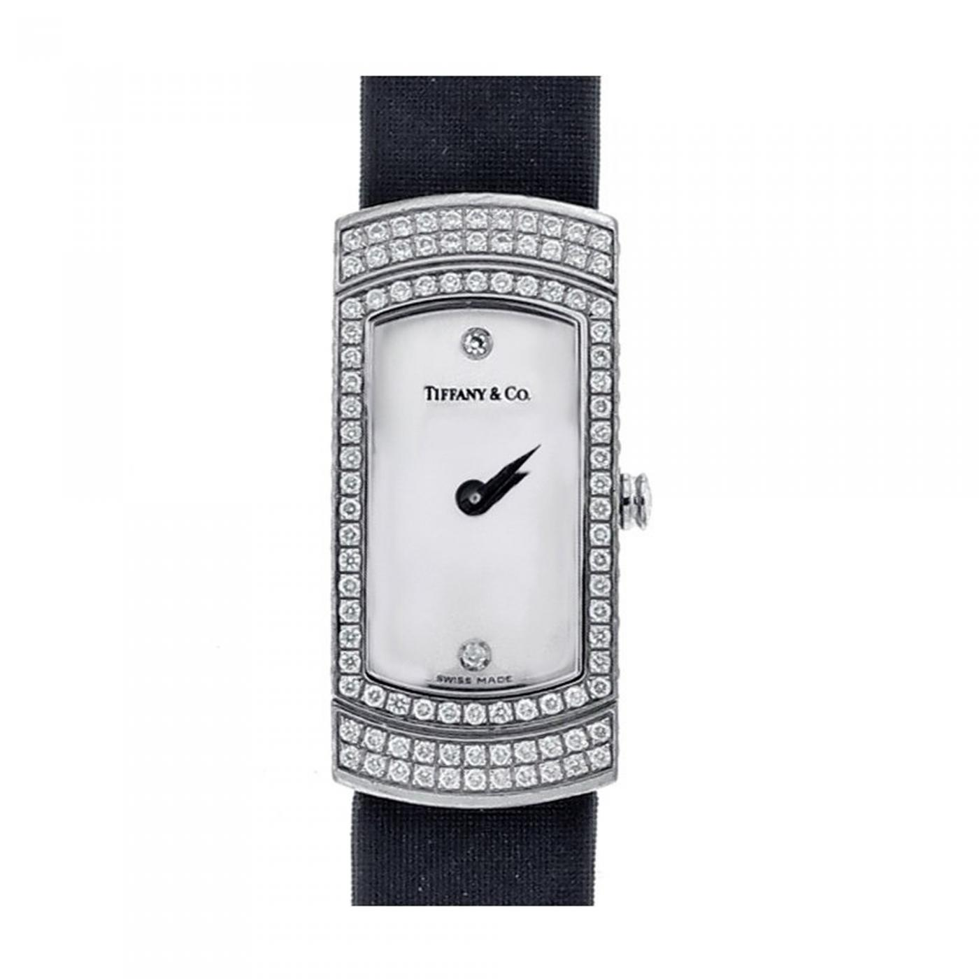 8be09301c3123 Tiffany and Co. - Tiffany & Co. Lady's Diamond Cocktail Watch