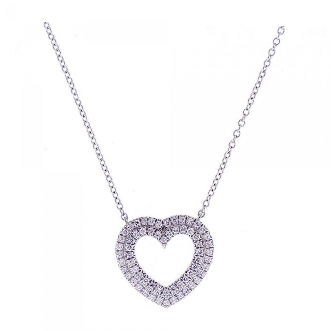 size necklace product heart os jewellery necklaces contempo jewelry