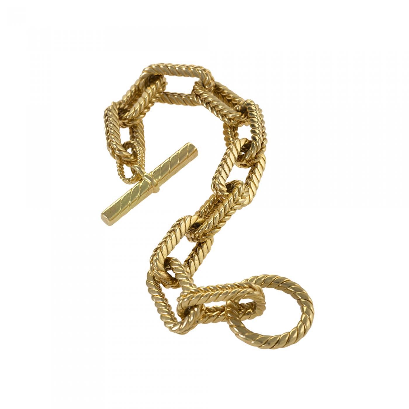 Tiffany and Co  - Tiffany & Co  Gold Link Bracelet