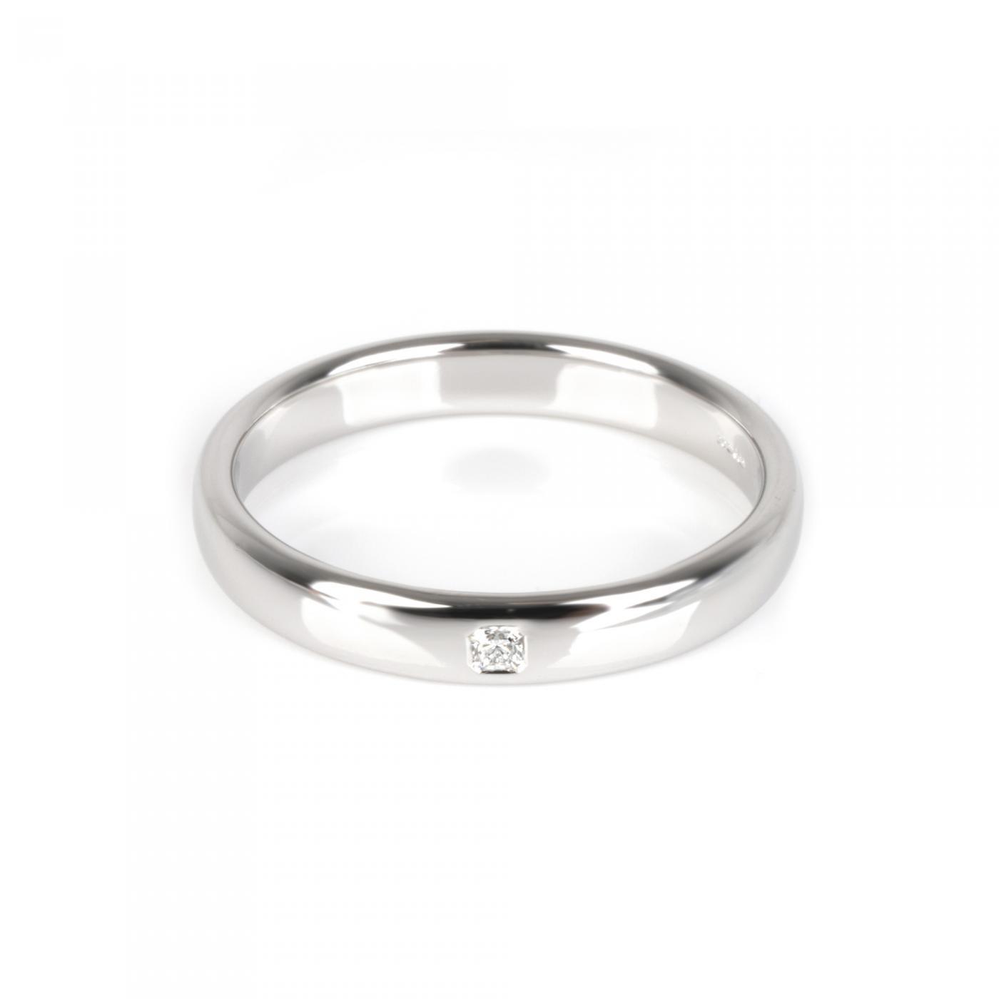 Tiffany And Co Tiffany Co Lucida Diamond Men S Ring In Platinum 0 05 Ctw