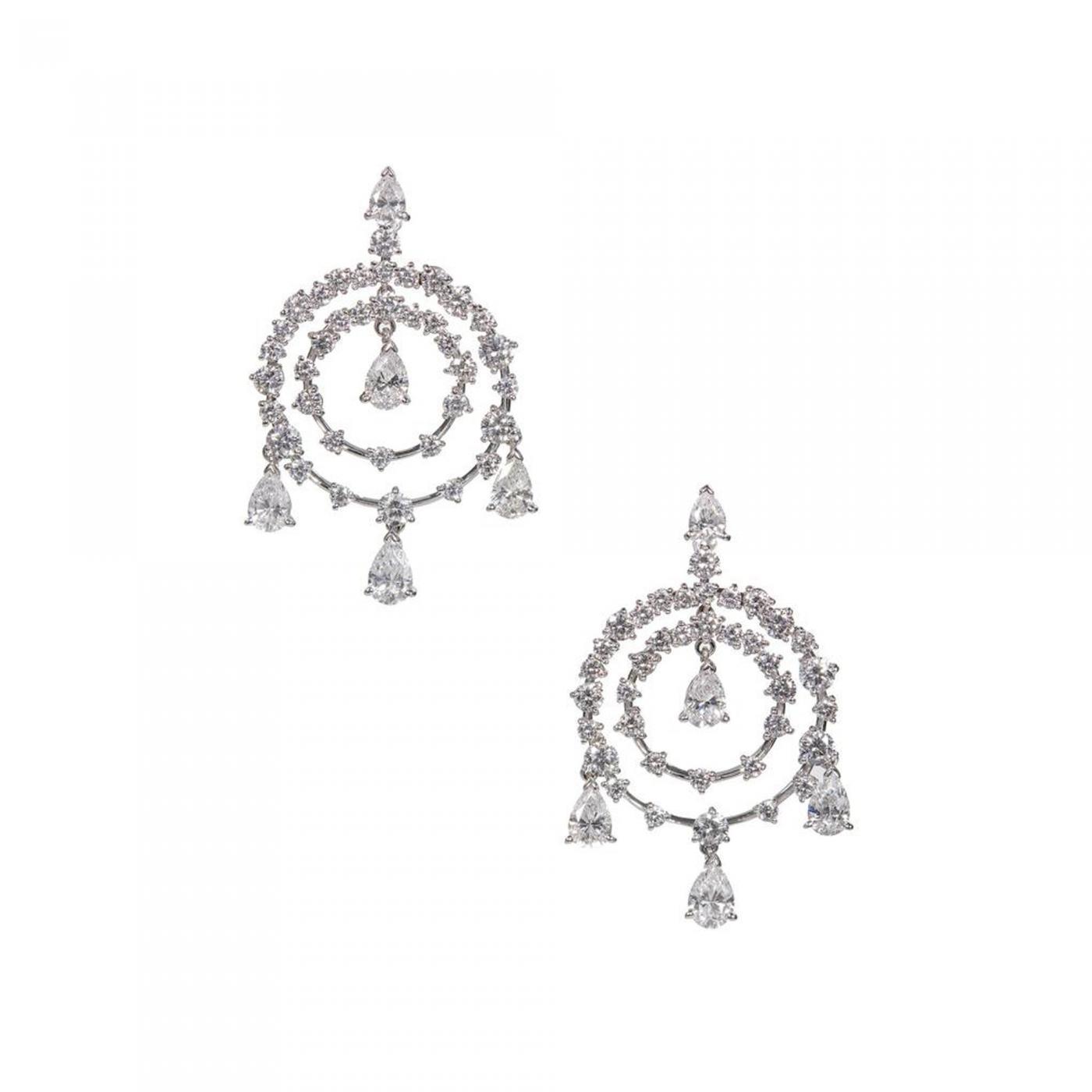 Van cleef arpels van cleef arpels petillante diamond gold listings jewelry earrings drop arubaitofo Choice Image