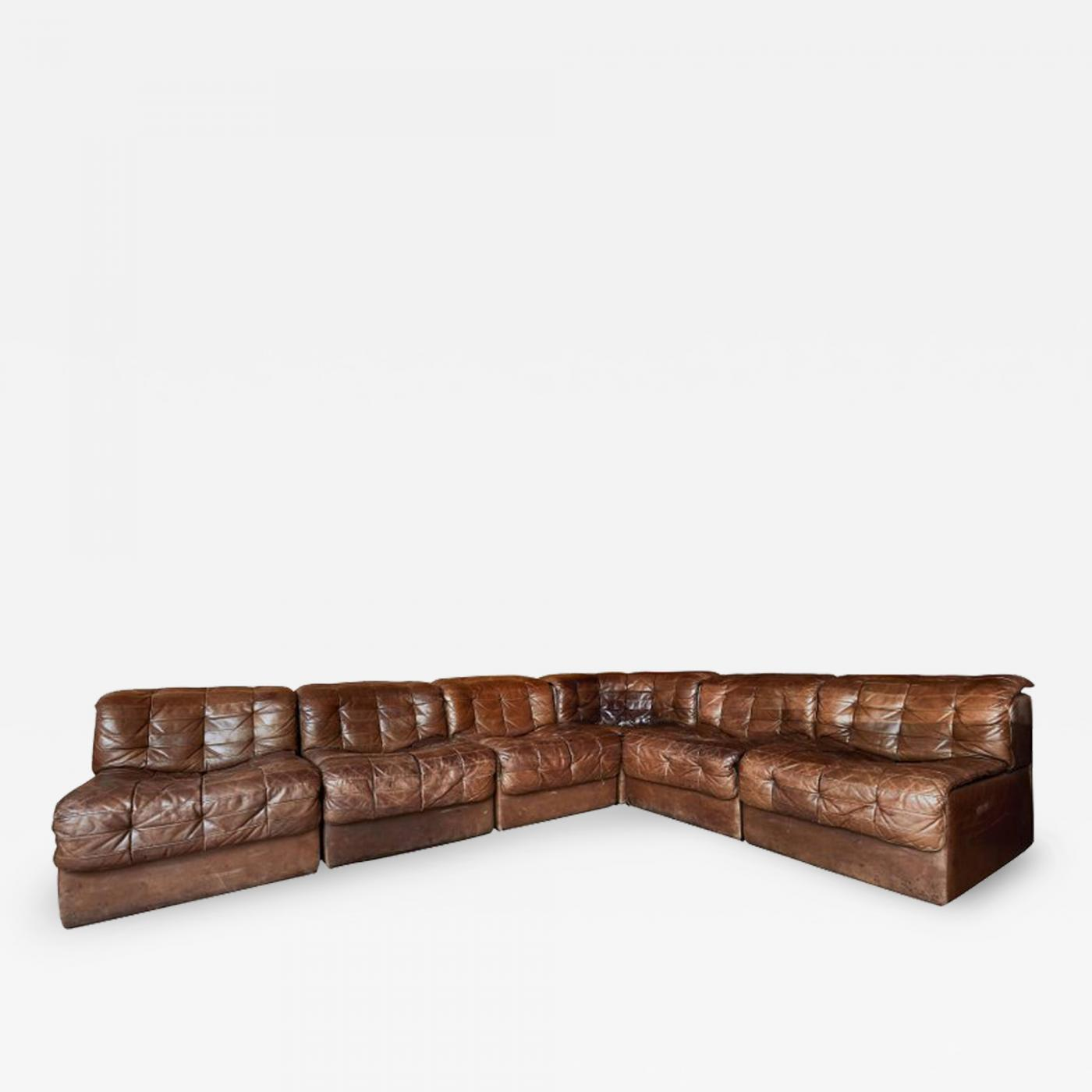 De Sede Patchwork.De Sede De Sede Ds 11 Modular Patchwork Leather Sectional Sofa