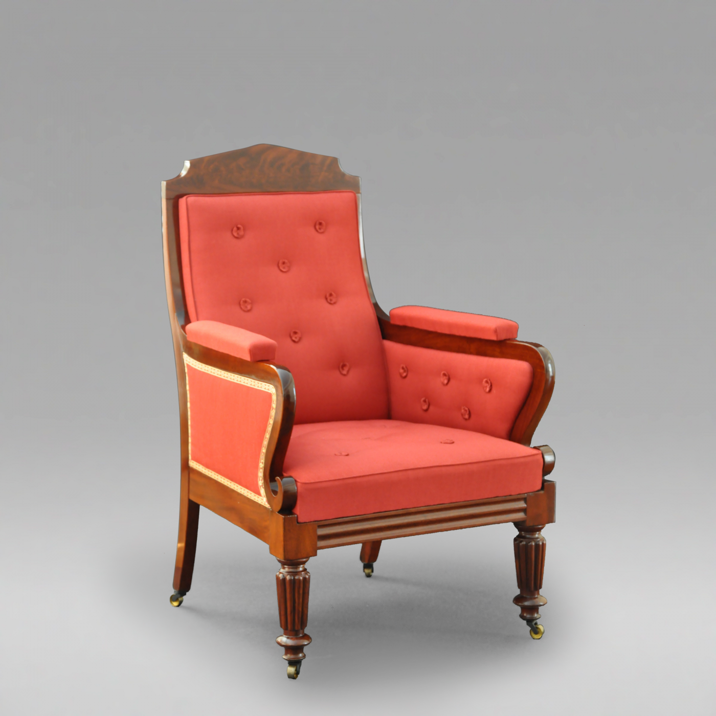 A classical bergere c 1825 for Furniture 1825
