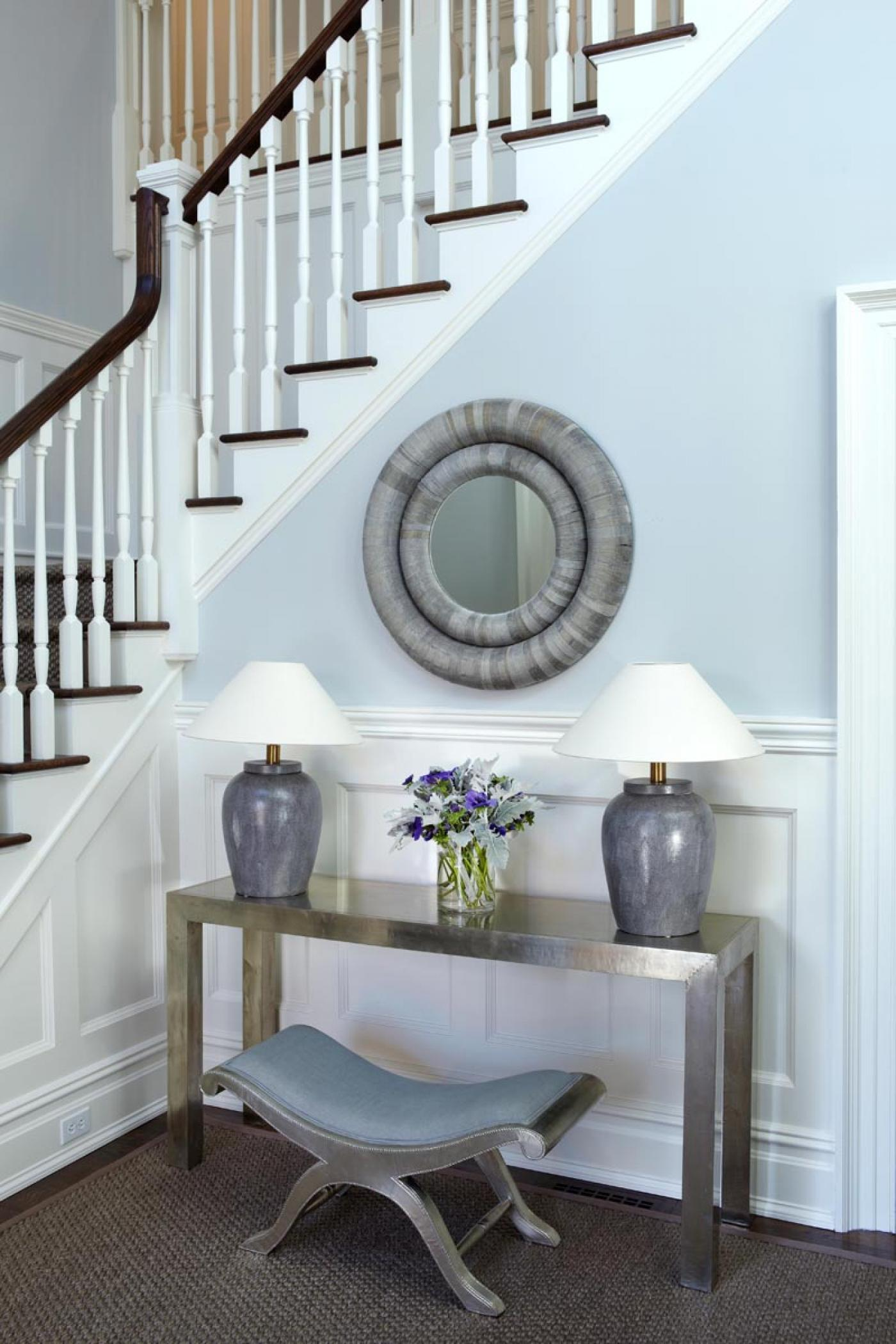 Foyer Entrance Exam : Westport residence by sam allen interiors