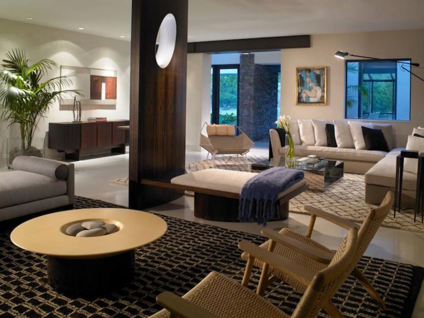 A Snapper Creek Residence By Michael Wolk Design Associates