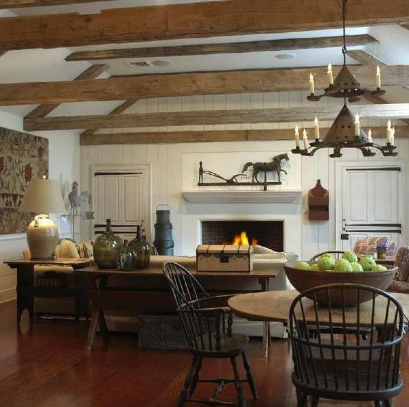 Colonial Dining Rooms Center Hall Colonial Kitchen Room: Morristown, NJ By Bell-Guilmet Associates
